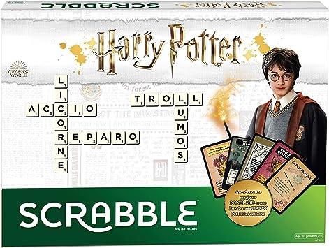 Oferta amazon: Juegos Mattel- Scrabble Harry Potter juego de mesa en castellano, 3.6 x 40.1 x 18.8 cm (GPW40)
