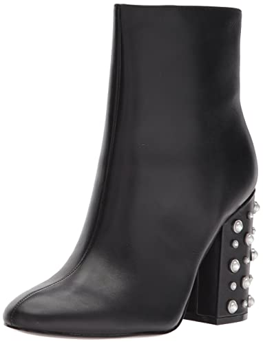 Ivanka Trump Women's Telora Ankle Boot, Black, 10 Medium US