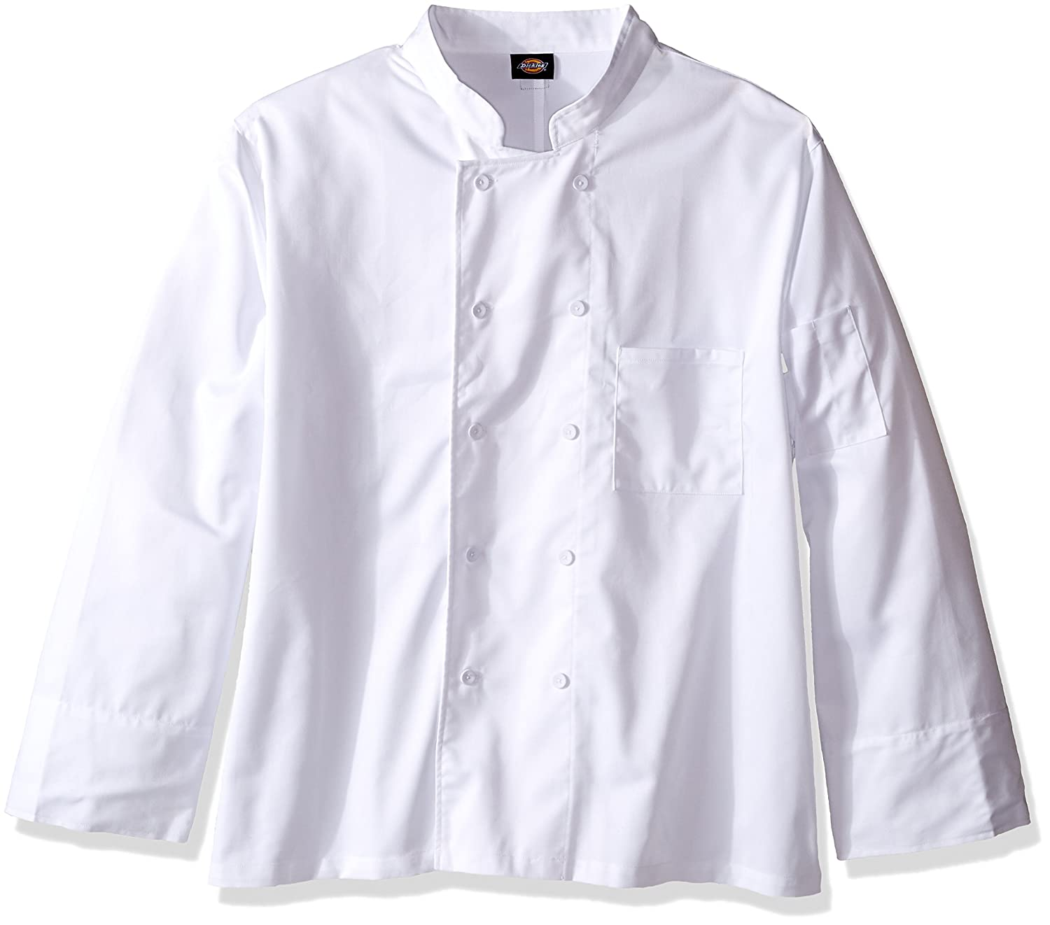 Dickies Covered Button Chef Coat Dickies Chef DC44
