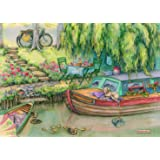 Canal Boat 1000 Piece Puzzle