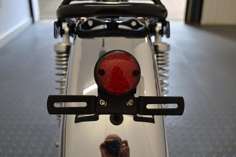 Moto Led Sem/áforo Luz Trasera para Retro Cafe Racer Motocicleta a Medida Proyecto Bicicleta