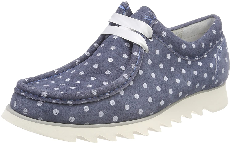 Sioux Damen Grash-d172-28 Sneaker, Blau (Light-jeans)