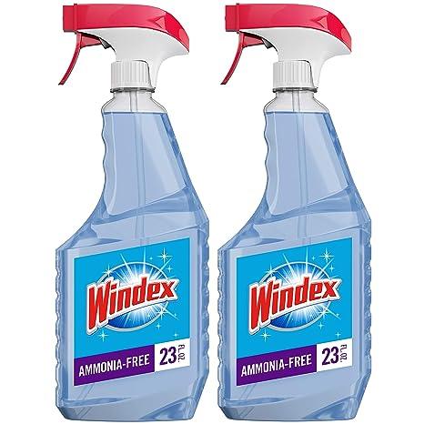 Amazon.com: Windex Crystal Rain producto limpiador de vidrio ...