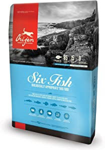 Orijen 6 Fish Dry Dog Food Bag, 12 Oz