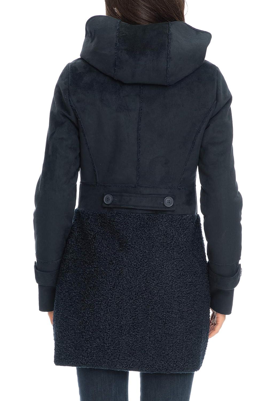 Yes Zee Cappotto Donna Blu: Amazon.it: Abbigliamento