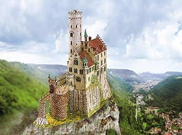 Aue Verlag 23 x 9 x 23 cm, Kit de maqueta del Castillo de ...