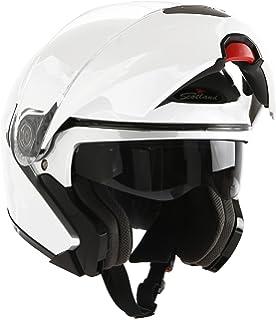Scotland Casco Modular de Moto Modelo Force 02, Blanco Brillante, 57-58 (