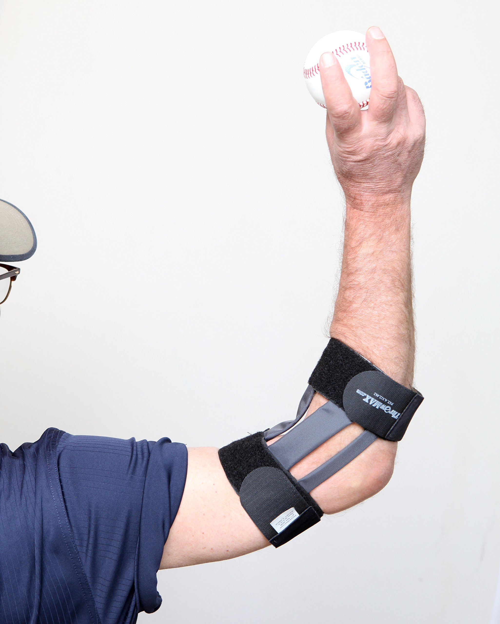 Throwmax Flexible Elbow Brace (Small Right Arm) by Throwmax (Image #4)