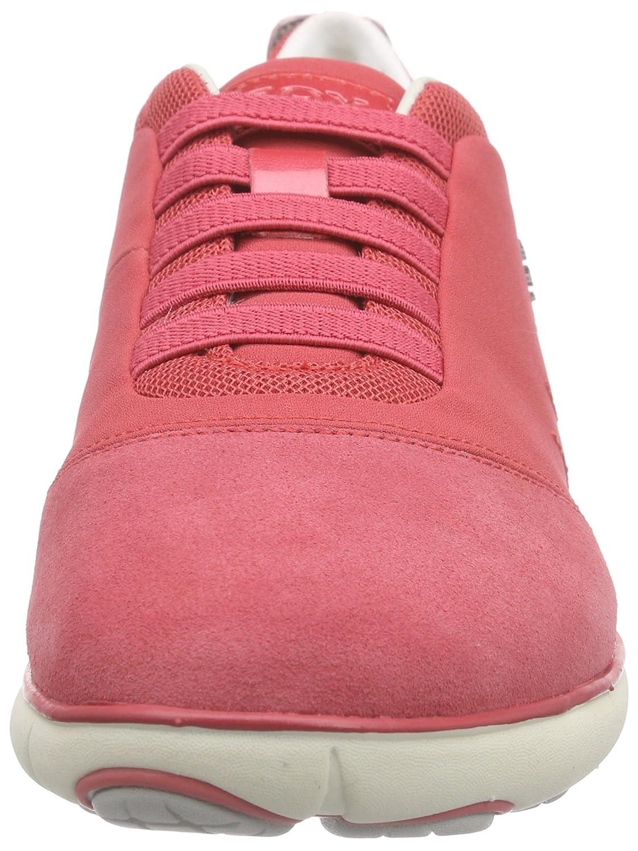 Geox D Nebula Rot C, Damen Niedrig-Top Sneakers Rot Nebula (Coralc7008) cd01e3