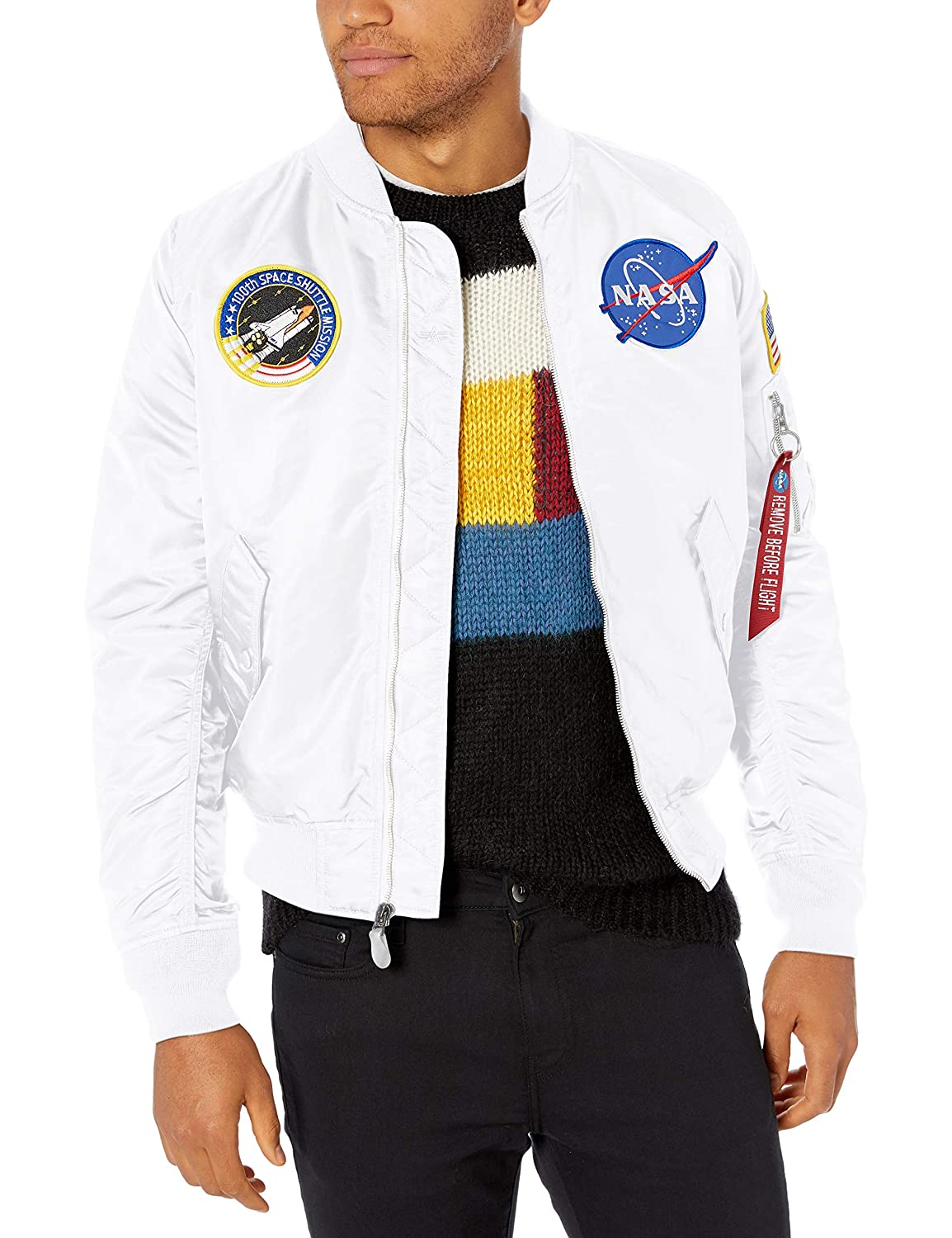 Amazon.com: Alpha Industries, chamarra Bomber aviadora L-2b ...