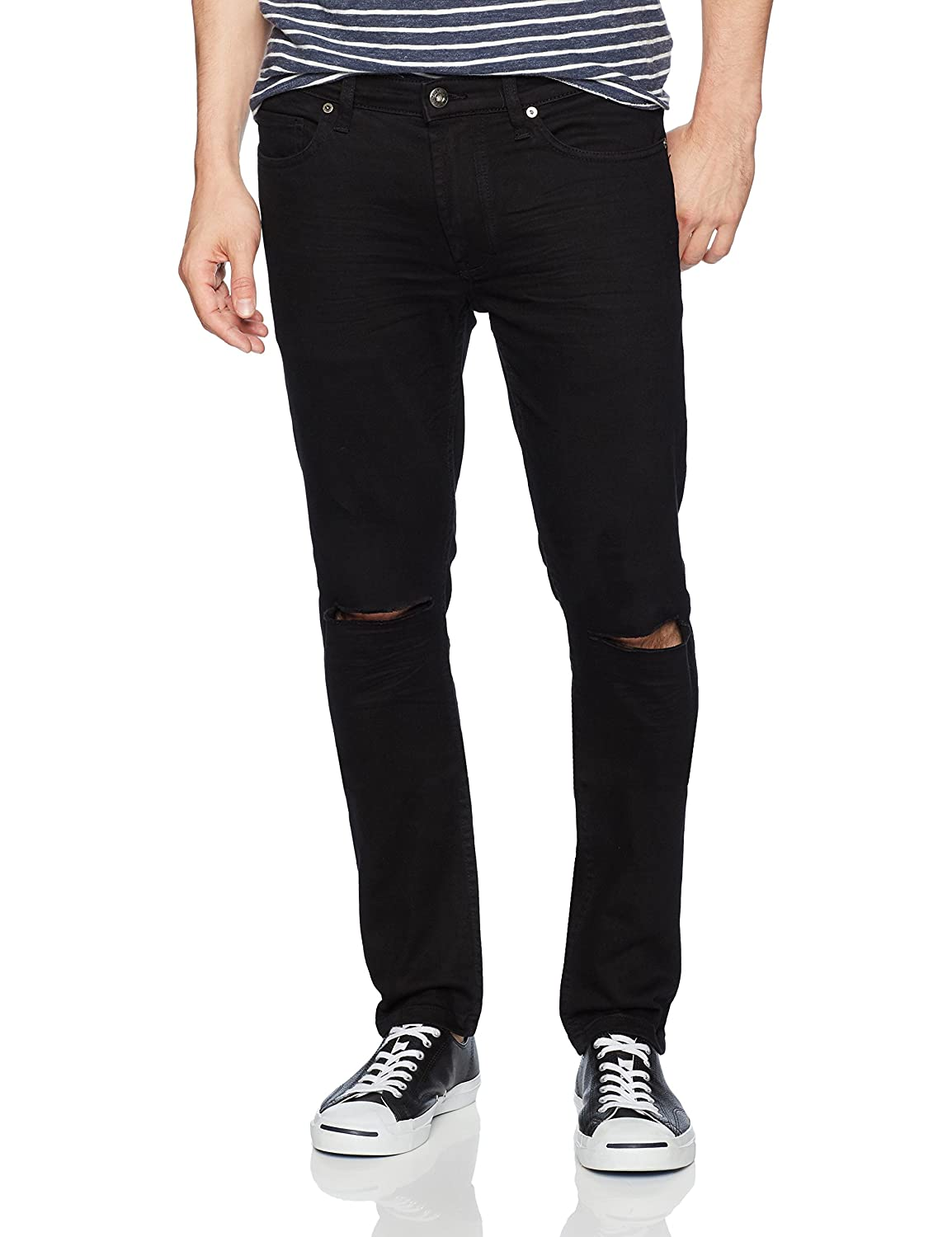 BLANKNYC High Q Denim Distressed Pant Pants