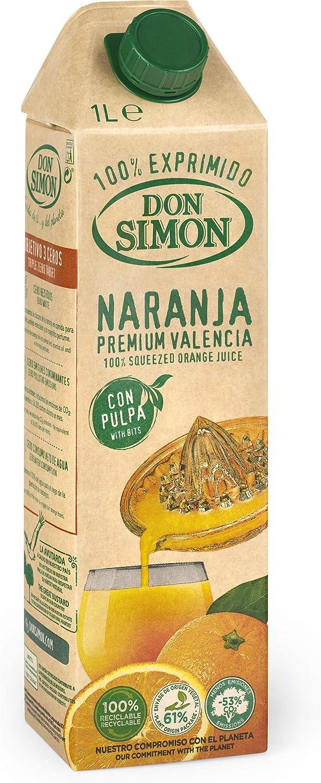 Don Simón Zumo de Naranja Exprimida - Pack de 12 Botellas x ...