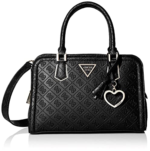 GUESS Lyra Small Girlfriend Satchel, Black:
