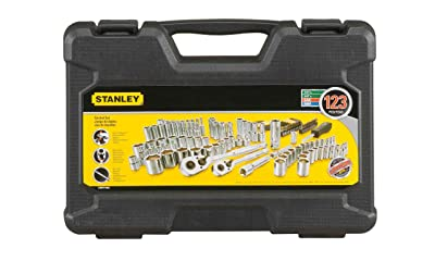 Stanley STMT71652 123-Piece Socket Set,Black