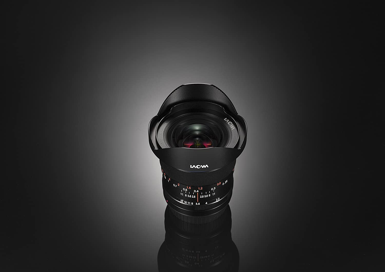 Laowa 12mm f//2.8 Zero-D Canon EF Amplio, MILC//SLR, 16//10, 22-2,8, Manual, Canon EF Objetivo