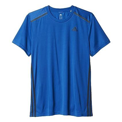 Adidas Cool365 tee - Camiseta para Hombre, Color Azul, Talla M