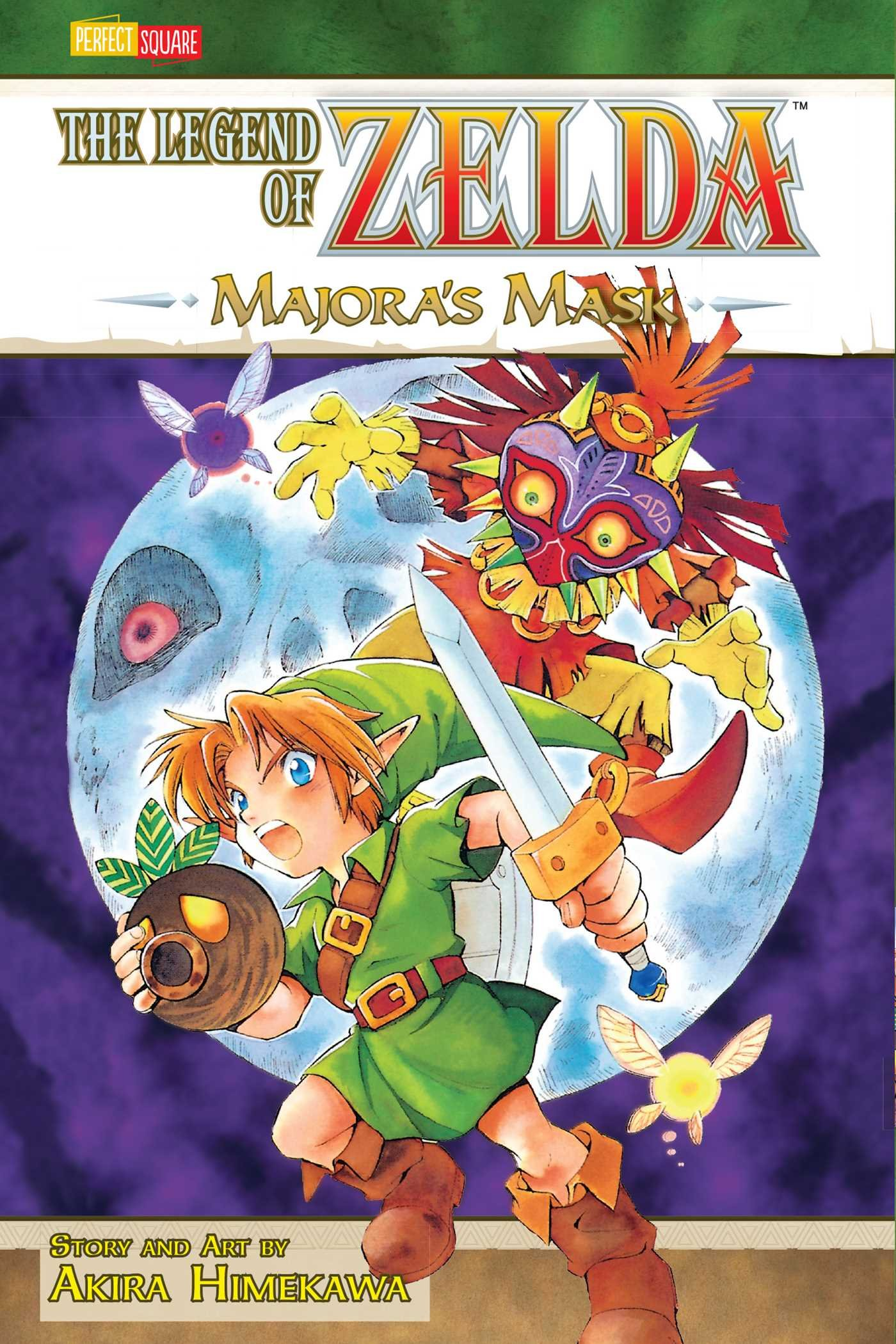 Read Online The Legend of Zelda, Vol. 3: Majora's Mask PDF