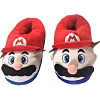 ShopTag Super Mario Adult Yellow Plush Home Slippers
