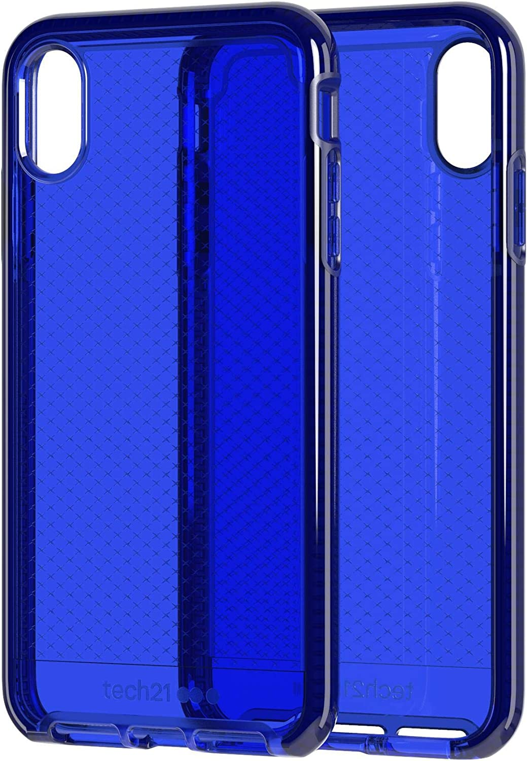 tech21 Evo Check Phone Case Cover for Apple iPhone Xs Max - Midnight Blue