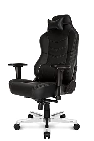 Brilliant Ak Racing Deluxe Gaming Chair Black Amazon Co Uk Machost Co Dining Chair Design Ideas Machostcouk