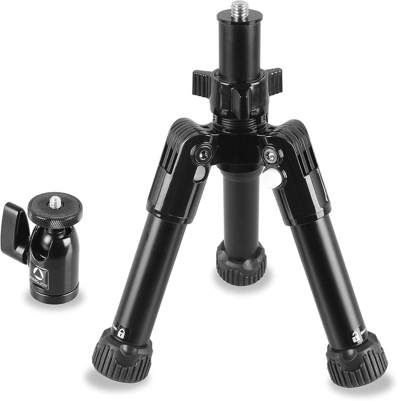 Compact Kingjoy SC Series Tabletop Camera Tripod Kit SC051 Black