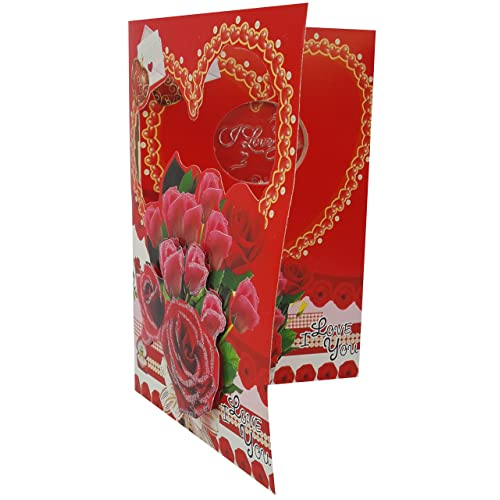 Valentine cards for husband buy valentine cards for husband online urvi creations led musicial romantic love valentines day greeting card m4hsunfo