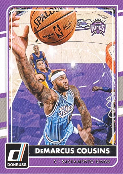 2015-16 Panini complete team set!! demarcus cousins!!! 11 cards!! Kings