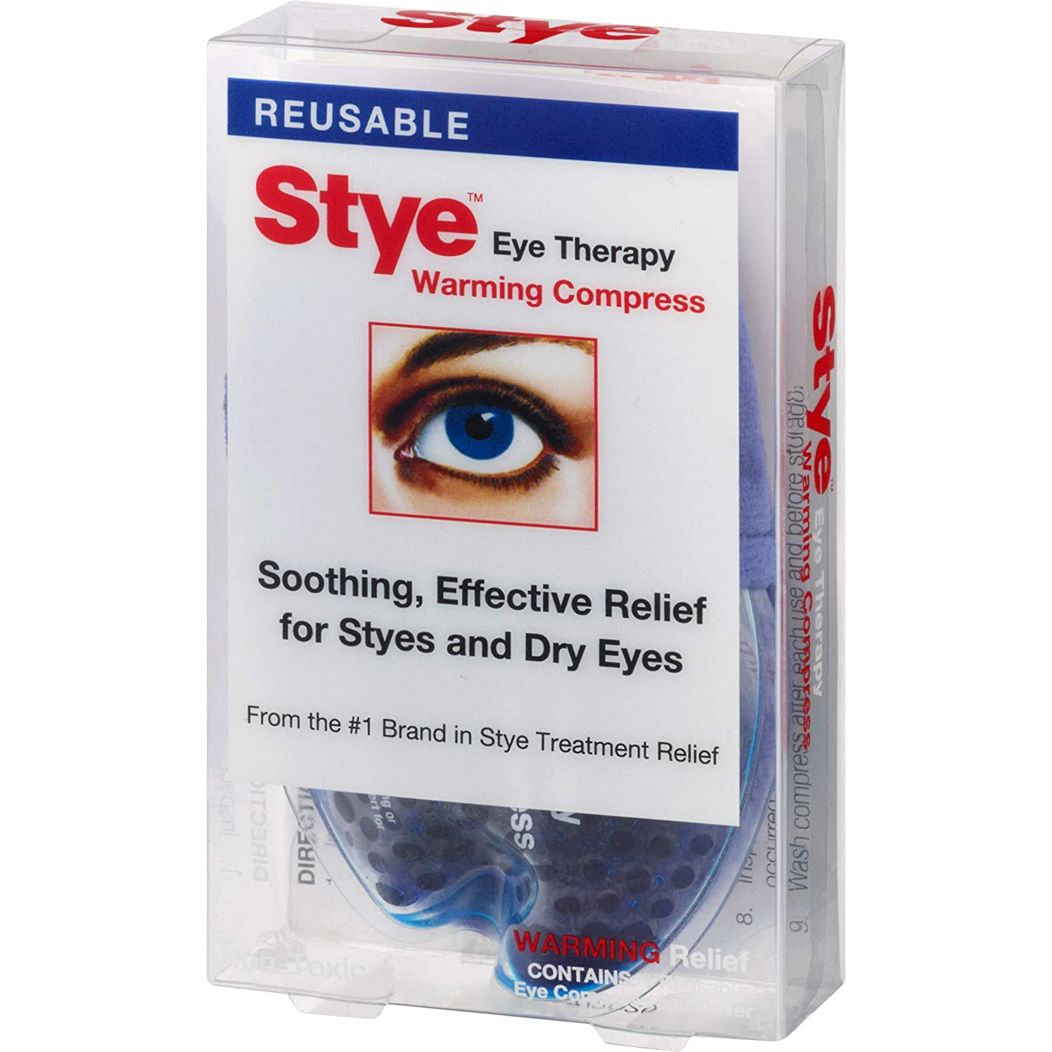 Stye Eye Therapy Reusable Warming Compress Relief For Styes And Dry Eyes