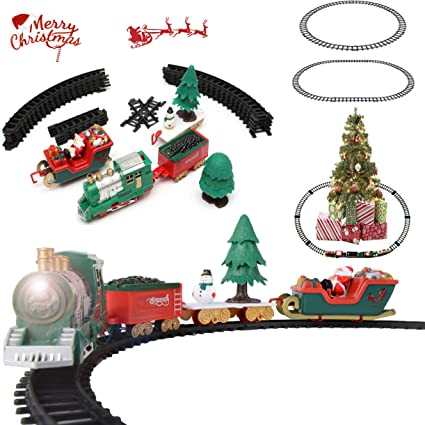 129 Pieces Crazy Coaster /& Carriages Train Trax Set XMAS Birthday Toy Gift