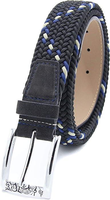Amazon Com Robert Graham Men S Designer Belt Leather Suede Silver Buckle Braided Belt Clothing