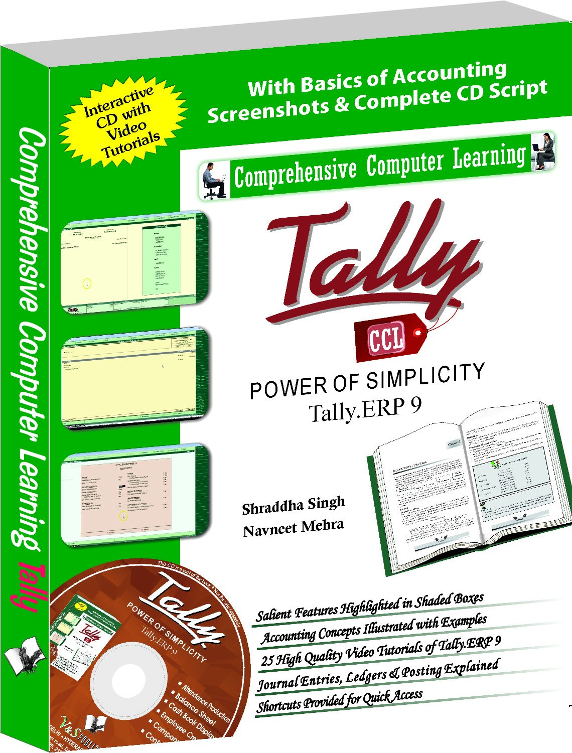 Buy Tally ERP 9 (Power of Simplicity): Software for Business and Accounts  Book Online at Low Prices in India | Tally ERP 9 (Power of Simplicity):  Software ...