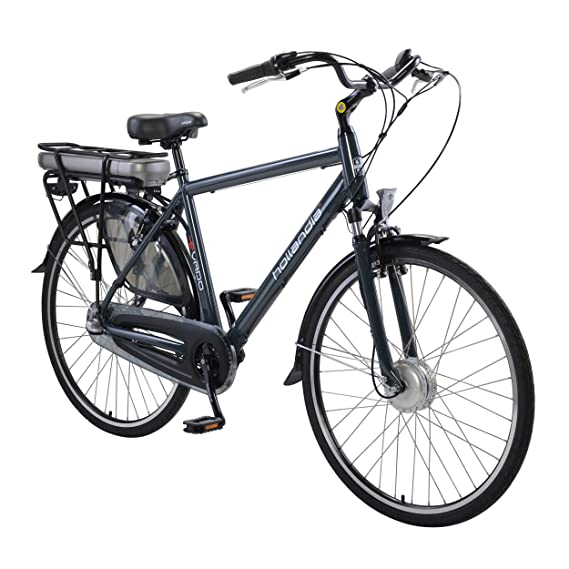 Amazon Com Hollandia Evado Electric City Commuter Bicycle Sports