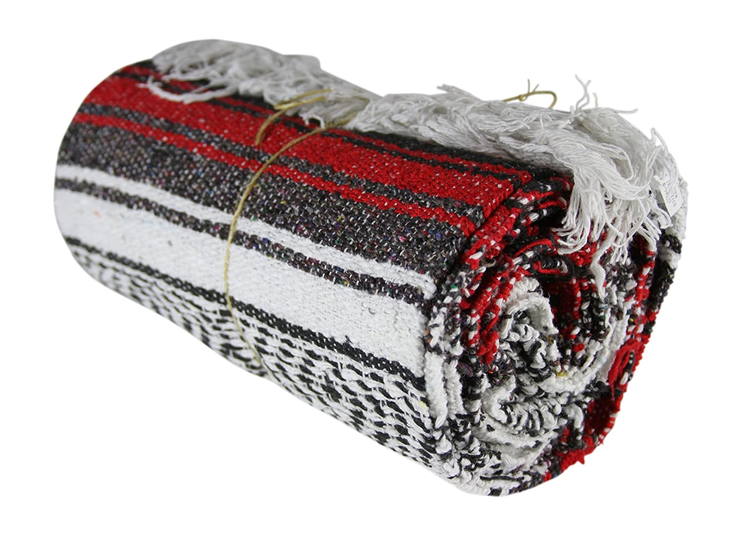 LF Inc Authentic Mexican Falsa Blanket Cover Mat with Free Bracelet