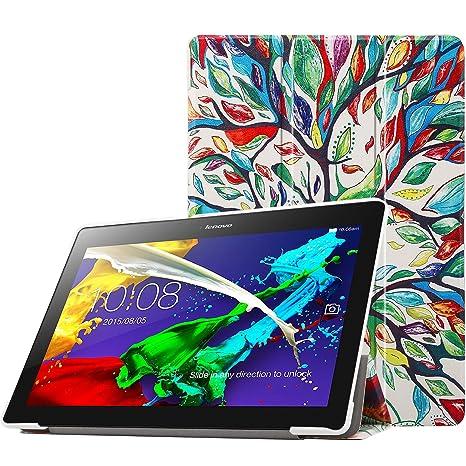 MoKo Lenovo Tab 2 A10 / TAB-X103F Tab 10 Funda - Ultra Slim Lightweight Smart-Shell Stand Cover Funda para Lenovo Tab2 A10-70 / TAB-X103F Tab 10 / ...