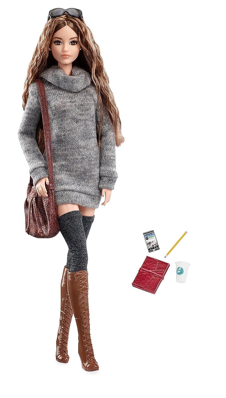 Barbie The Look Sweater Dress Doll Mattel DYX63