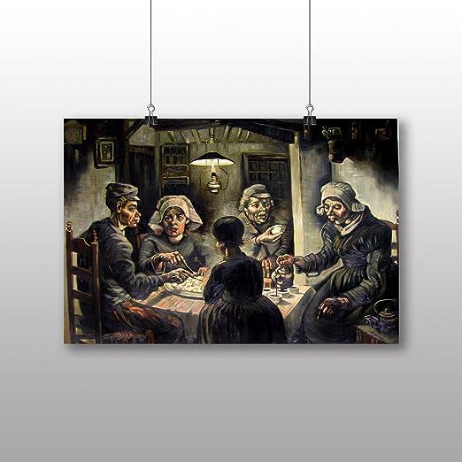 Póster de Vincent Van Gogh comedores de patatas - varios ...
