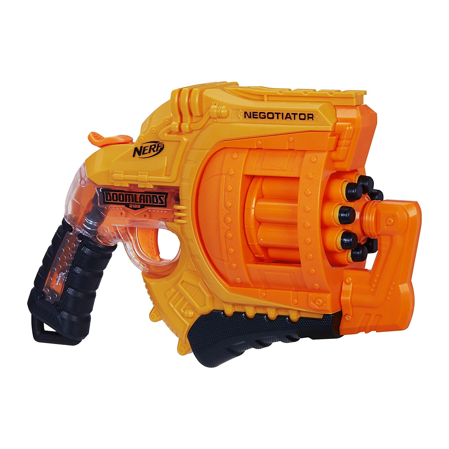Amazon.com: Nerf Doomlands 2169 Negotiator Blaster (Amazon Exclusive): Toys  & Games