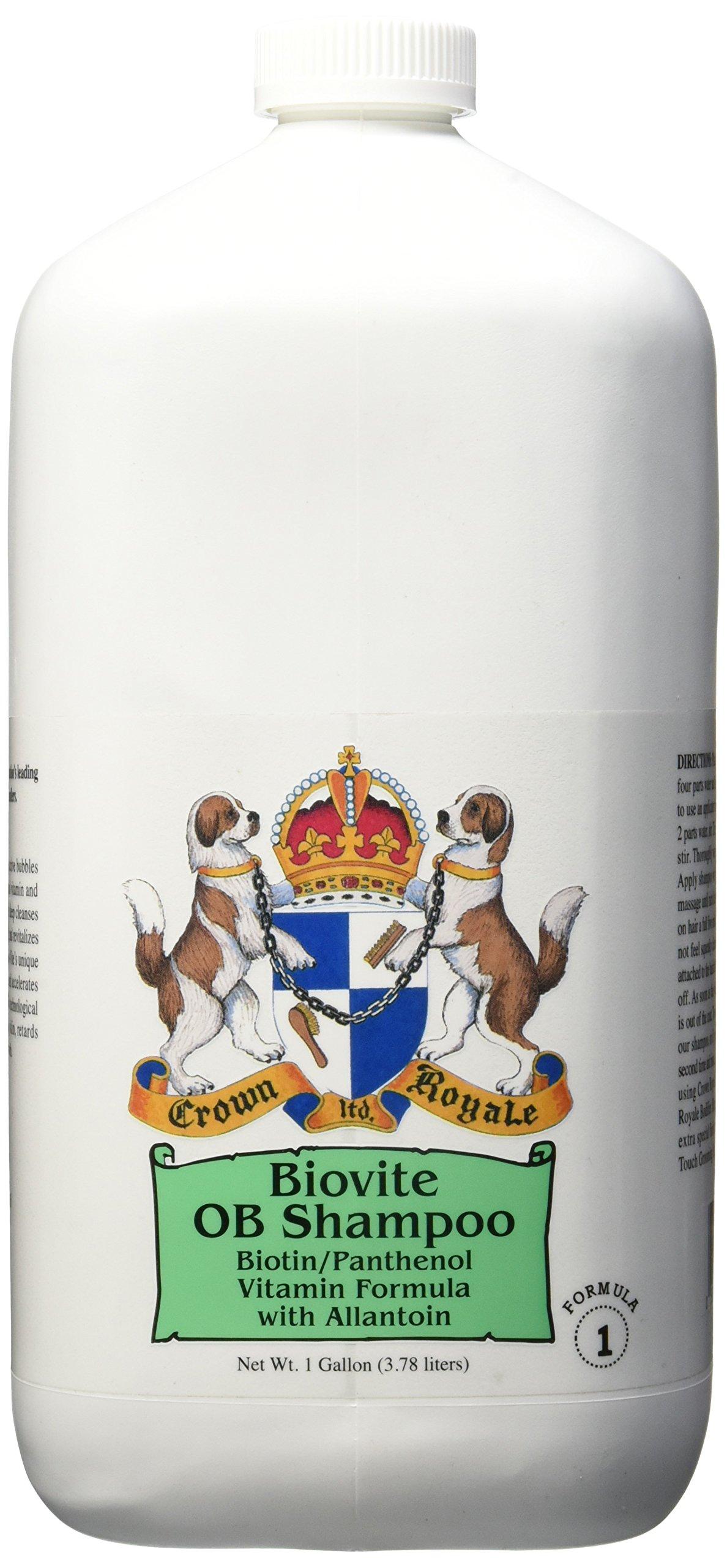 Crown Royale Biovite Formula 1 Shampoo Gallon Concentrate