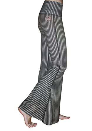 c27fe31f62 Amazon.com: Teeki Women's Bell Bottoms, Dust and Gold Pattern, Small ...