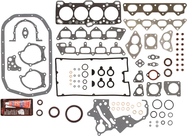 Evergreen OK5005M//0//2//2 89-92 Eagle Hyundai Mitsubishi Plymouth 2.0 DOHC 4G63 16V Master Overhaul Engine Rebuild Kit