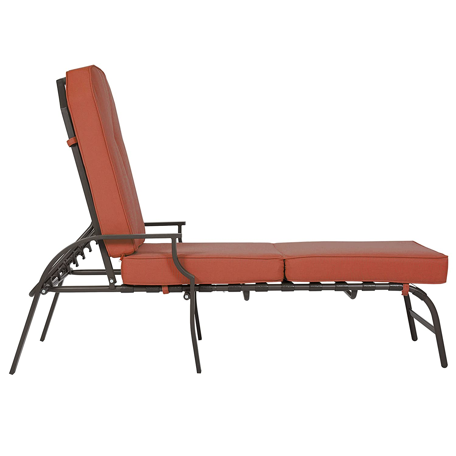 Patio chaise lounge marco island brownstone commercial for 23 w outdoor cushion for chaise