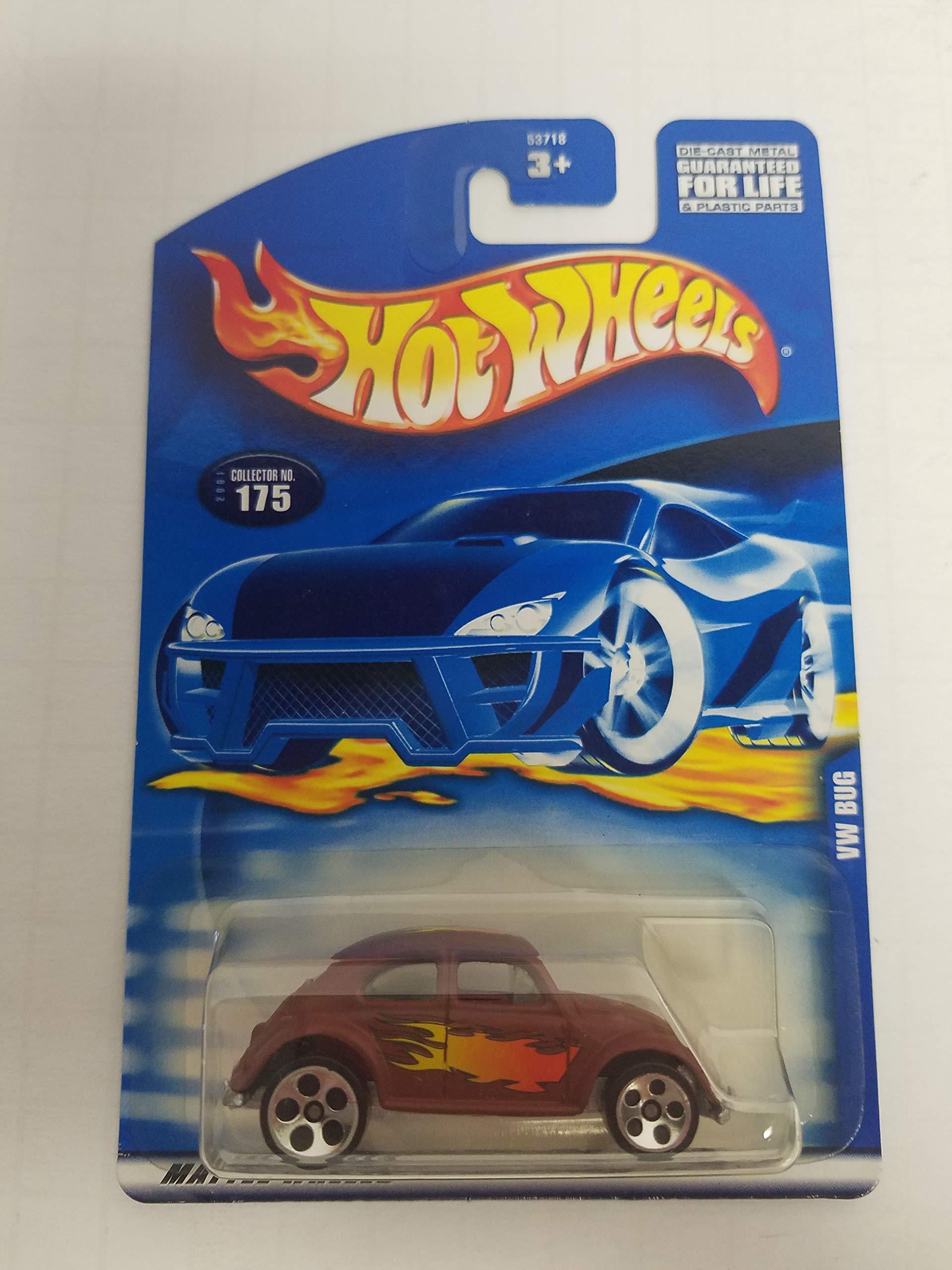 VW Bug Hot Wheels 2001 diecast 1/64 scale car No. 175