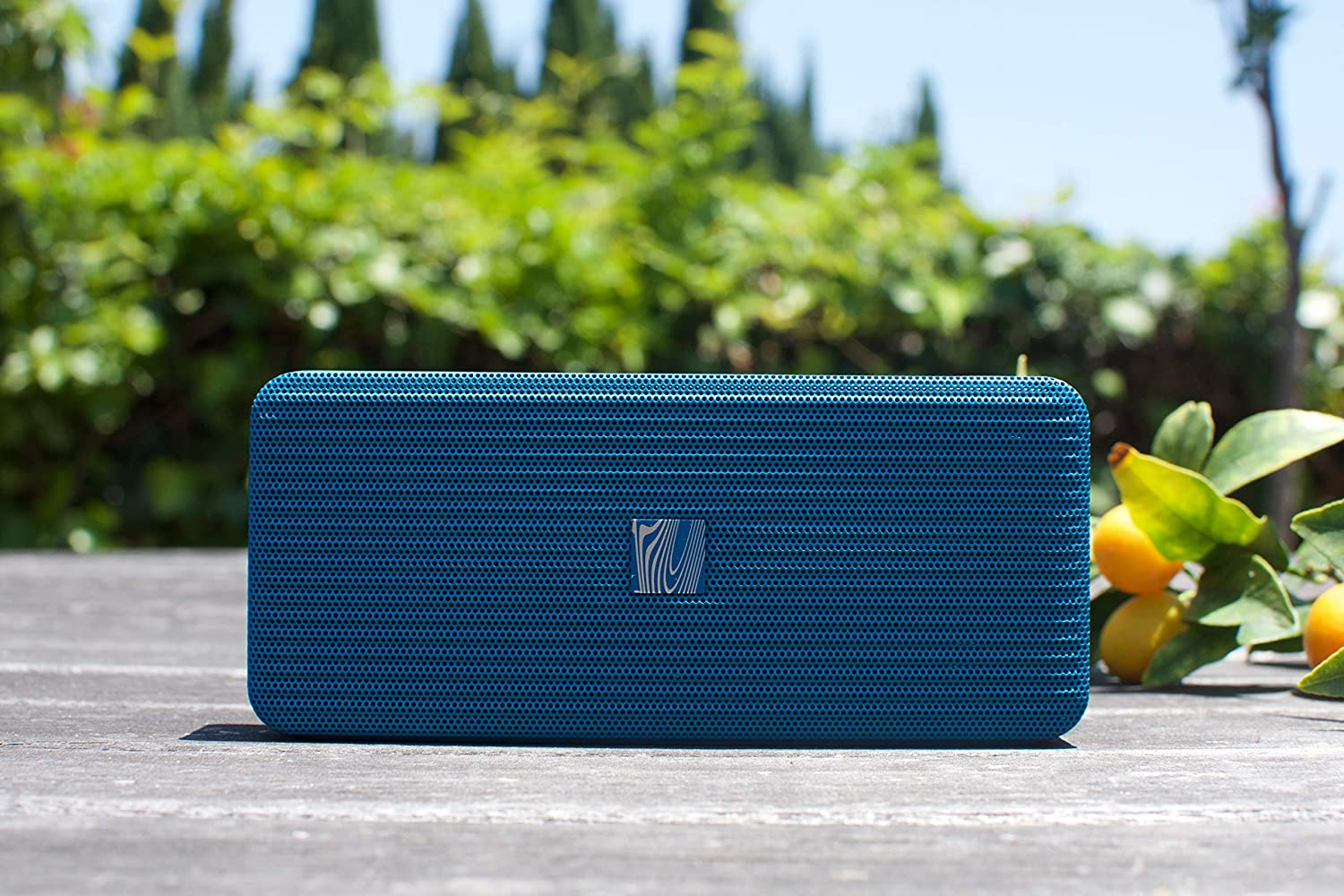 Blue Soundfreaq Pocket Kick Wireless Bluetooth Portable Speaker and Speakerphone