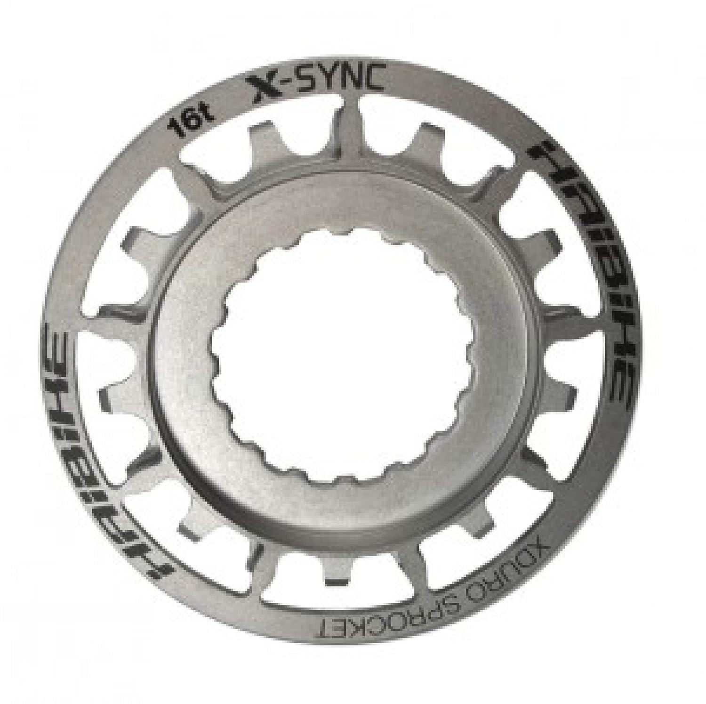 Gen22014 HAIBIKE Pignon d\entra/înement E-Bike pour Bosch xduro 16Z acier inoxydable Argent 1pièce 1/pi/èce Gen2/2014/