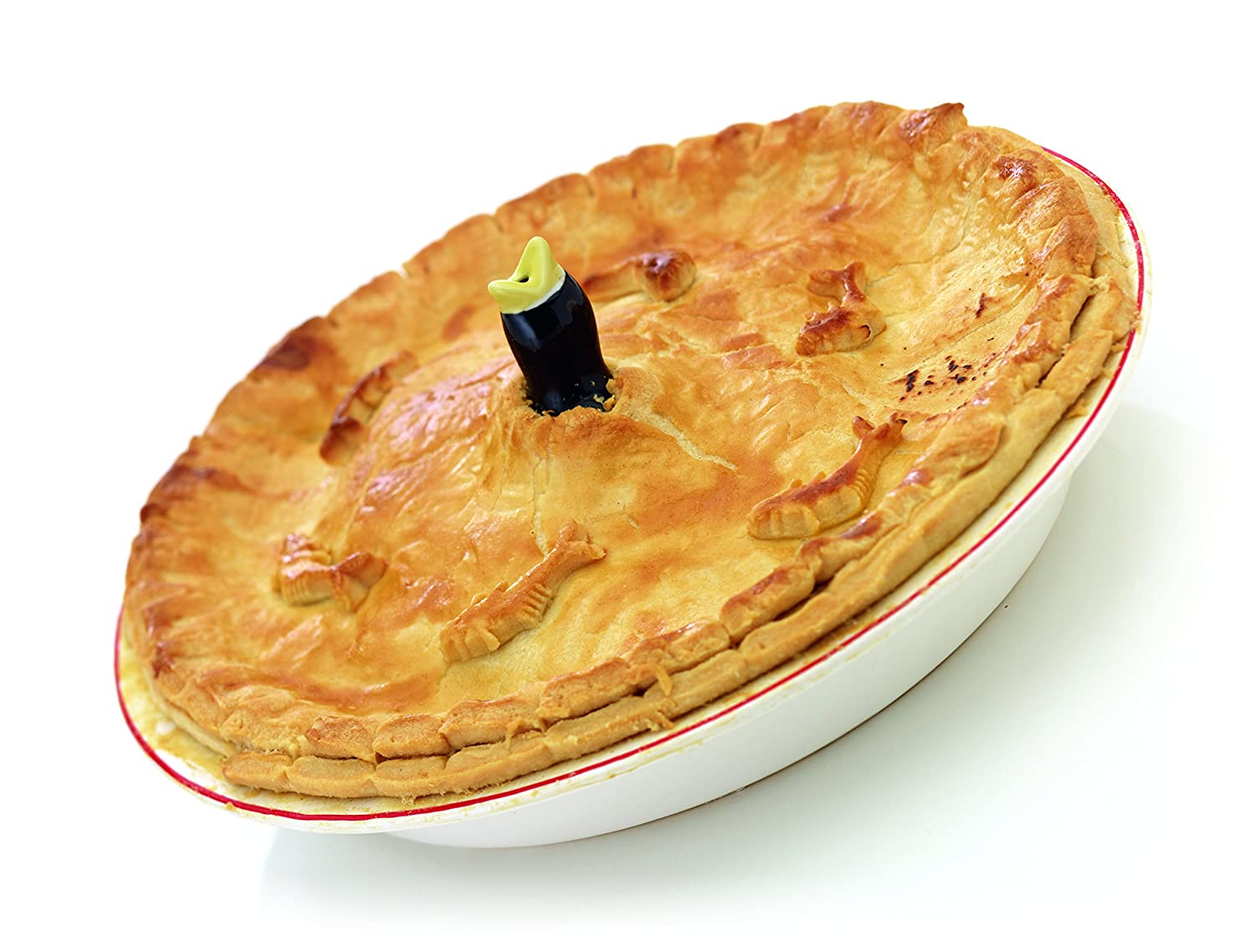 KitchenCraft Ceramic Blackbird Pie Funnel / Pie Bird: Amazon.co.uk ...
