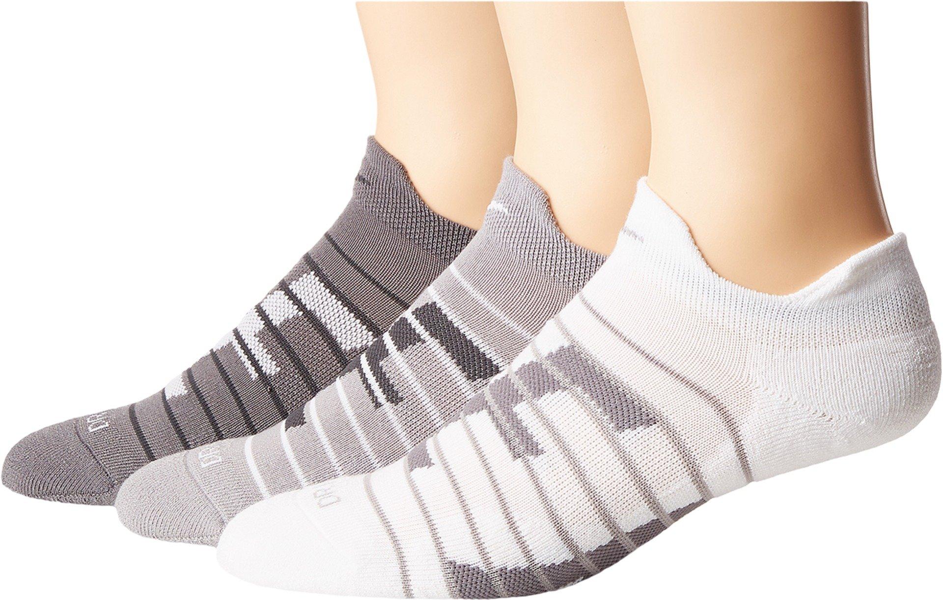 Nike Women`s Dry Cushion Low Training Socks (3 Pair), Nike Stripe Logo (Sx6879-925) / Assorted , Medium  by Nike