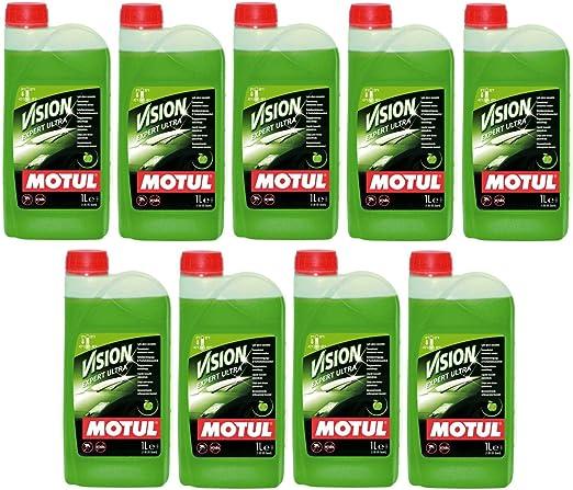 Motul Vision Expert Ultra - Manzana de olor - Lavado concentrado para parabrisas, 9 litros: Amazon.es: Coche y moto