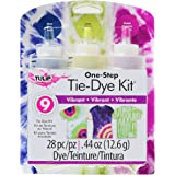 Tulip Tie Fabric Dye Kit, Vibrant, 3 colors, 0.44oz