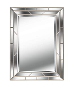 Kenroy Home Lens Home Décor, 38 Inches by 28 Inches, Silver