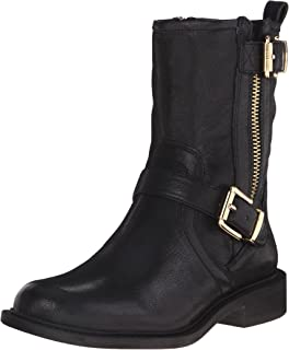 8219809d1b4 Amazon.com | Vince Camuto Women's Wexle Leather Moto Boot, Lead ...